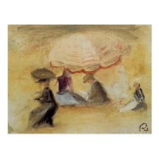 Pierre-Auguste Renoir- On the Beach Postcard