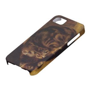 Pierre-Auguste Renoir- Sleeping Cat iPhone 5 Covers