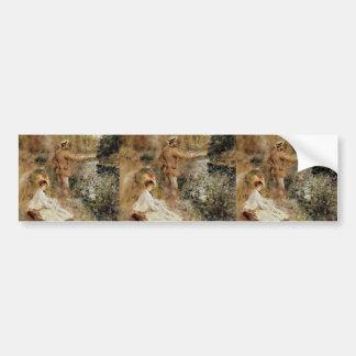Pierre-Auguste Renoir- The Fisherman Bumper Stickers