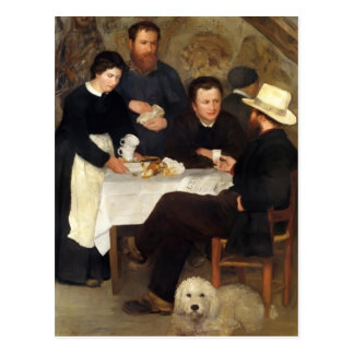 Pierre-Auguste Renoir- The Inn of Mother Anthony Postcard