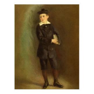 Pierre-Auguste Renoir- The Little School Boy Postcard
