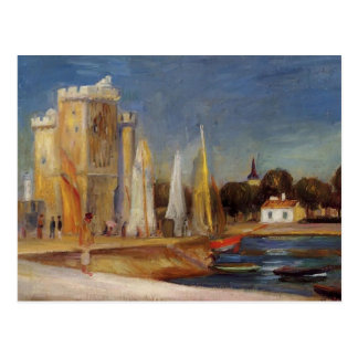 Pierre-Auguste Renoir- The Port of Rochelle Postcard