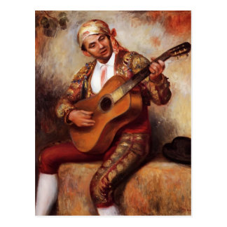 Pierre-Auguste Renoir- The Spanish Guitarist Postcard