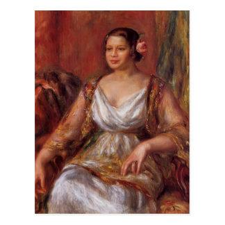 Pierre-Auguste Renoir- Tilla Durieux Postcard