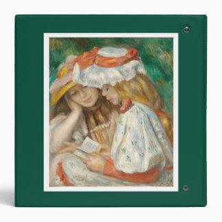 Pierre-Auguste Renoir - Two Girls Reading Binder