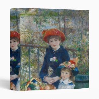 Pierre-Auguste Renoir - Two Sisters Vinyl Binders