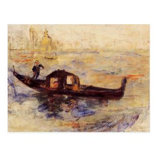 Pierre-Auguste Renoir- Venetian Gondola Postcard