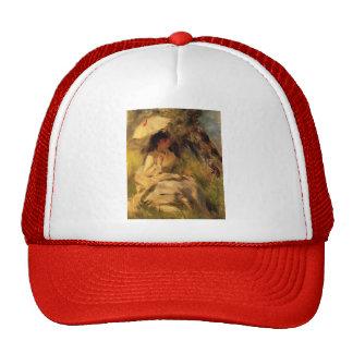 Pierre-Auguste Renoir- Woman with a Parasol Trucker Hat