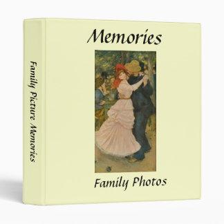 Pierre-Auguste Renoir's Dance at Bougival (1883) Vinyl Binders