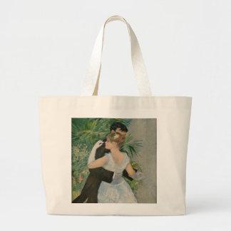 Pierre-Auguste Renoir's Dance in the Town (1883) Jumbo Tote Bag