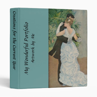 Pierre-Auguste Renoir's Dance in the Town (1883) Vinyl Binder