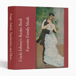 Pierre-Auguste Renoir's Dance in the Town (1883) Vinyl Binders