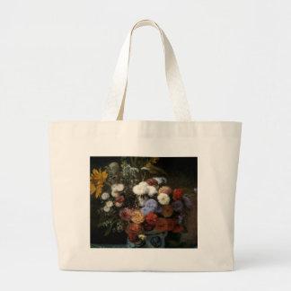 Pierre-Auguste Renoir's Flowers in a Vase (1869) Jumbo Tote Bag