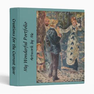 Pierre-Auguste Renoir's The Swing (1876) Vinyl Binder