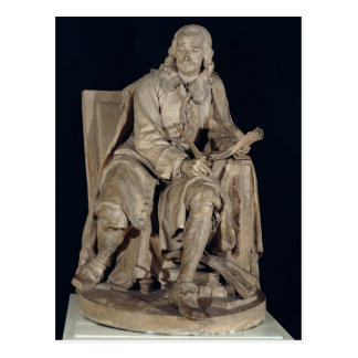 Pierre Corneille  Seated Postcard