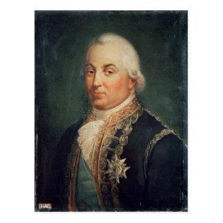 Pierre de Suffren-Saint-Tropez Admiral of Postcard