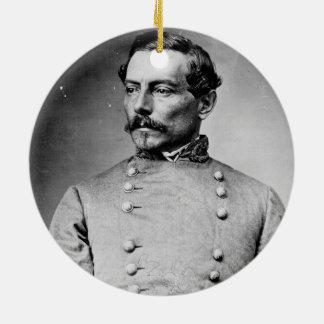 Pierre Gustave Toutant Beauregard Confederate Ceramic Ornament