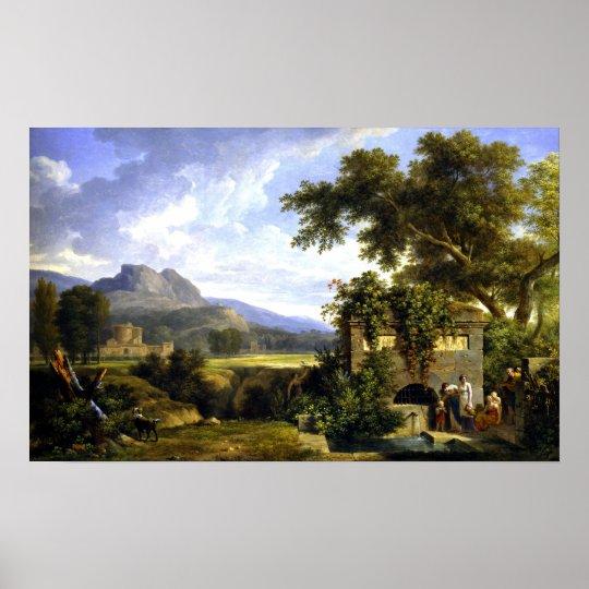 Pierre-Henri de Valenciennes Classical Landscape Poster