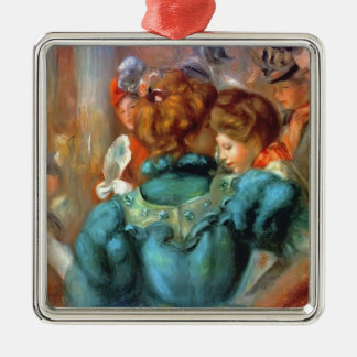 Pierre Renoir- A Box in the Theater des Varietes Christmas Ornament