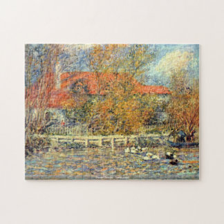 Pierre Renoir - Duck pond puzzle