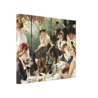 Pierre Renoir- le déjeuner de la partie de canotag Toile Tendue