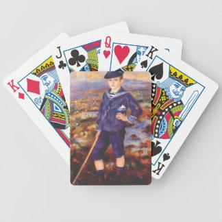 Pierre Renoir-Sailor Boy(Portrait of Robert Nunes) Bicycle Playing Cards