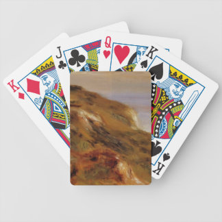 Pierre Renoir-The Varangeville Church & the Cliffs Bicycle Playing Cards