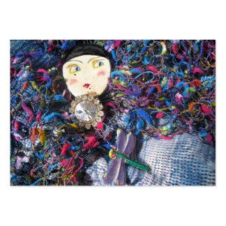 Pierrette brooches fashion business card
