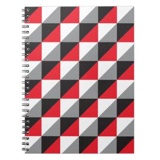 Pierrodress_red.ai Spiral Notebook