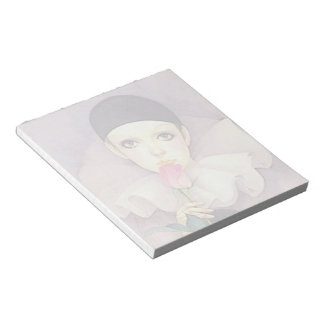 Pierrot 1980s notepad