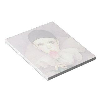Pierrot 1980s notepad