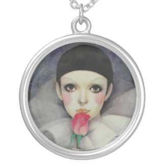 Pierrot 1980s silver plated necklace