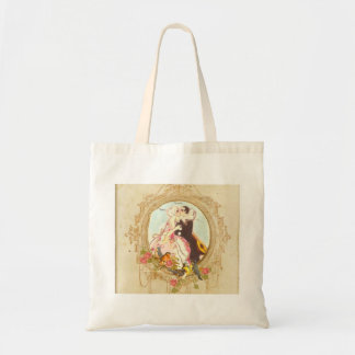 Pierrot and Columbine Tote Bag
