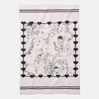 Pierrot's Dream Kitchen Towel