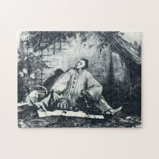 Pierrot's Repast Jigsaw Puzzle