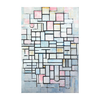 Piet Mondriaan Composition No. IV Canvas Print