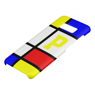 Piet Mondrian Art Style Modern Bright Initial Case-Mate Samsung Galaxy S8 Case