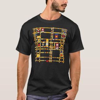 Piet Mondrian - Broadway Boogie Woogie Modern Art T-Shirt