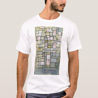 Piet Mondrian Composition 8 T-Shirt