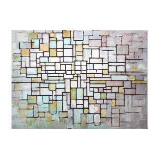 Piet Mondrian Composition No. II Canvas Print