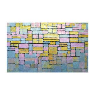 Piet Mondrian Composition No V Canvas Print