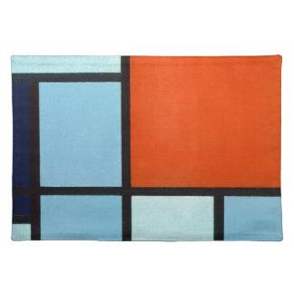 Piet Mondrian Composition Placemat