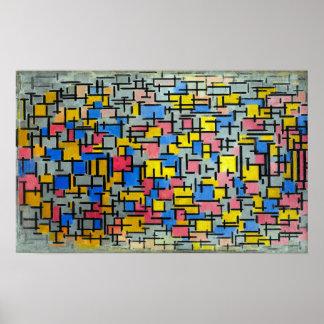 Piet Mondrian Composition Poster