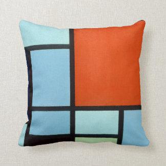 Piet Mondrian Composition Throw Pillow