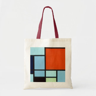 Piet Mondrian Composition Tote Bag