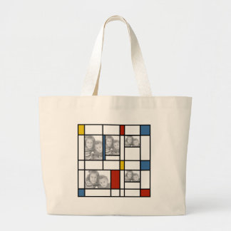 Piet Mondrian Inspired Photo Template Bag