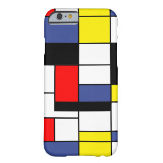 Piet Mondrian Minimalist Barely There iPhone 6 Case