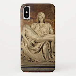 Pieta by Michelangelo iPhone X Case