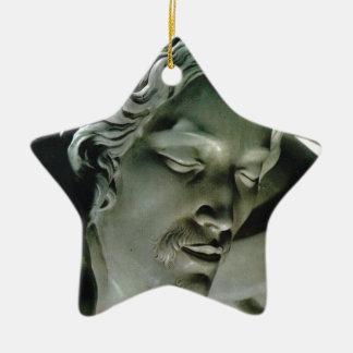 Pieta, by Michelangelo, St Peter's, Vatican Ceramic Star Ornament