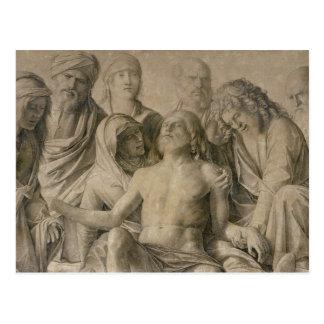 Pieta, The Dead Christ Postcard